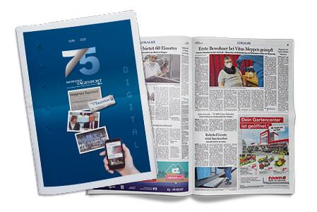 Aktuelles-75-Jahre-Meppener-Tagespost-Titelseite