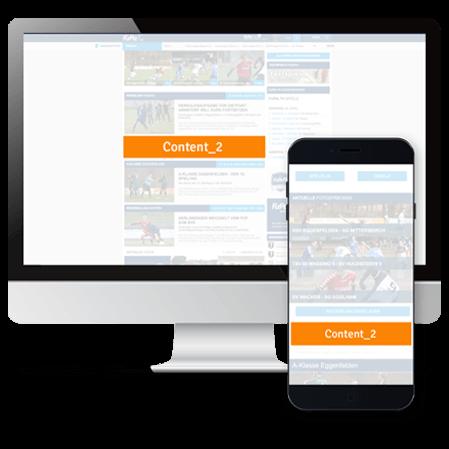 FuPa.net Werbemöglichkeit: Im Content