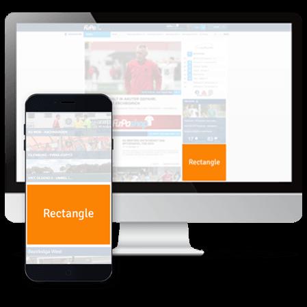 FuPa.net Werbemöglichkeit: Rectangle