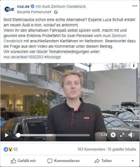 Aktuelles-Regionale-Werbung-Screenshot_Branded-Content-Facebook-Audi-Zentrum