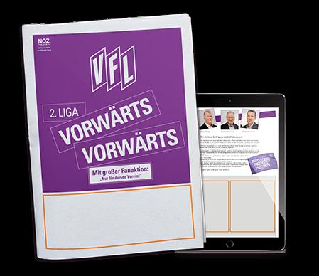 Aktuelles-Saisonstart-VfL-Osnabrueck-Titelseite-und-Beilage-in-App