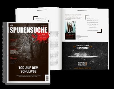 Aktuelles-hochwertige-Magazine-Cover-Spurensuche