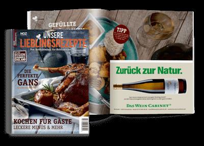 Aktuelles-hochwertige-Magazine-Cover-Unsere-Lieblingsrezepte-Menues