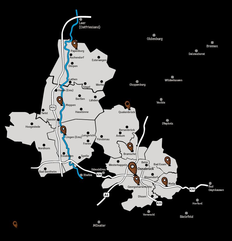 Die-Wirtschaft-Karte-Verbreitungsgebiet-Osnabrueck-Emsland-Grafschaft-Bentheim