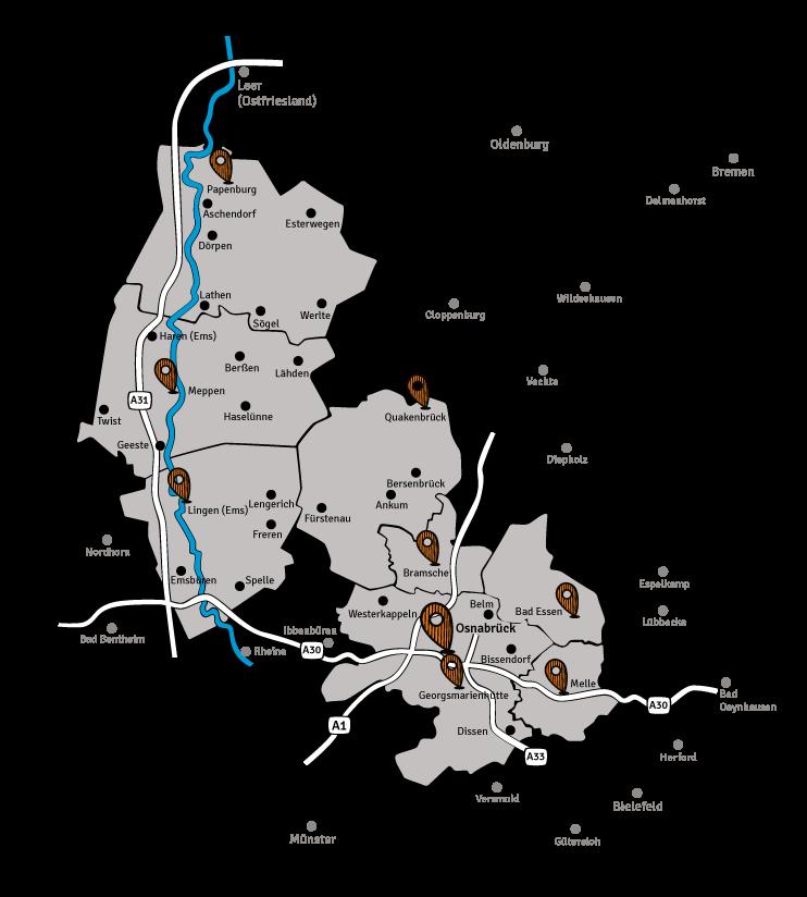 MSO Medien-Karte-Osnabrück-Emsland