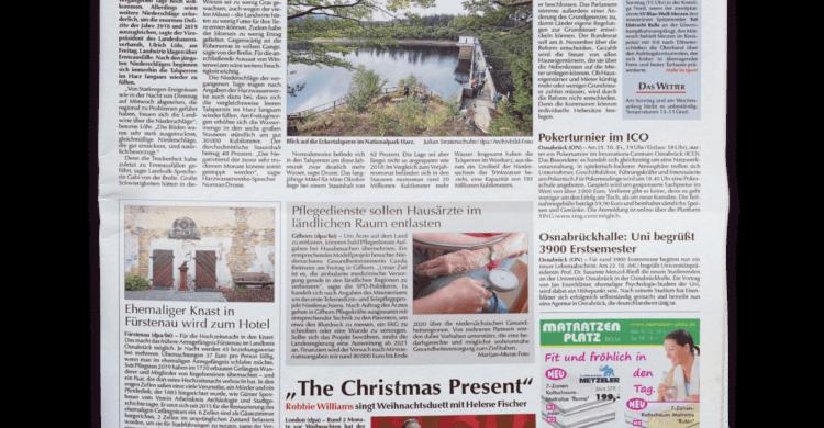 Osnabrücker Nachrichten-Sonntag-Titelseite