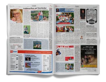 Osnabrücker Nachrichten-aufgeschlagene-Zeitung