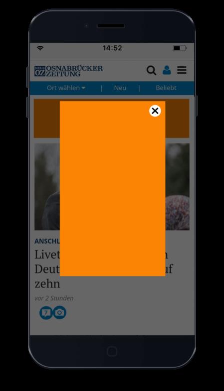 Werbemittel_iphone_mobile_interstital_noz.de_portrait_orange
